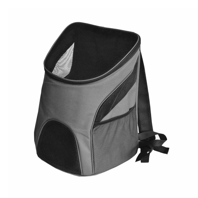 30b14cf87d Portable Outdoor Pet Dog Cat Bag Mesh Double Shoulder Backpack Travel  Carrier for Puppies Kittens Rabbits