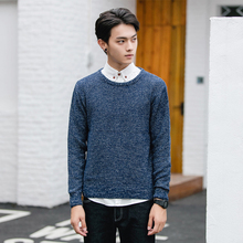 mcilam 2017 New Fashion Men Sweater Brand Pullovers Casual Sweater Male O-Neck Multi-Color Slim Fit Knitting Mens Sweaters