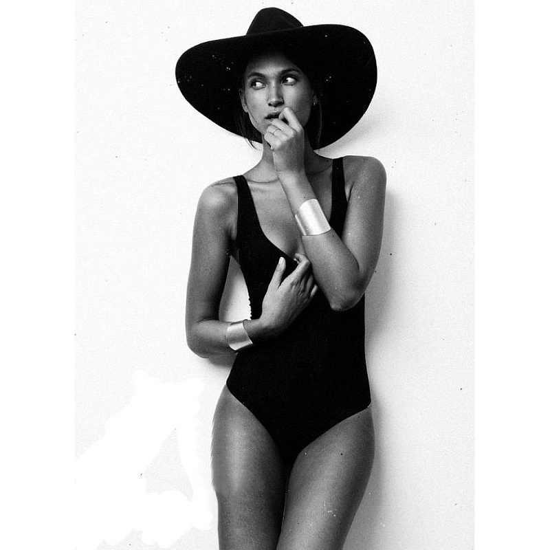 Maillot de bain une pièce été femmes Sexy couleur unie dos nu rembourré Bikini maillot de bain maillot de bain