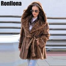 2018 New Style Fashion Fur Coat Natural Fur Mink High Quality Mink Fur Coat Women Coats Of Fur New Arrive Wholesale Customize