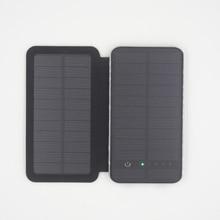 Cargador Solar Universal de Luces Solar Power Bank Batería de Reserva Externa de Carga 2x Paneles Solares 3 W Táctil Envío gratis