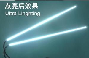Image 3 - 10 개/몫 540mm 가변 밝기 led 백라이트 스트립 키트, bakclight 주도 24inch ccfl lcd 화면 패널 모니터를 업데이트