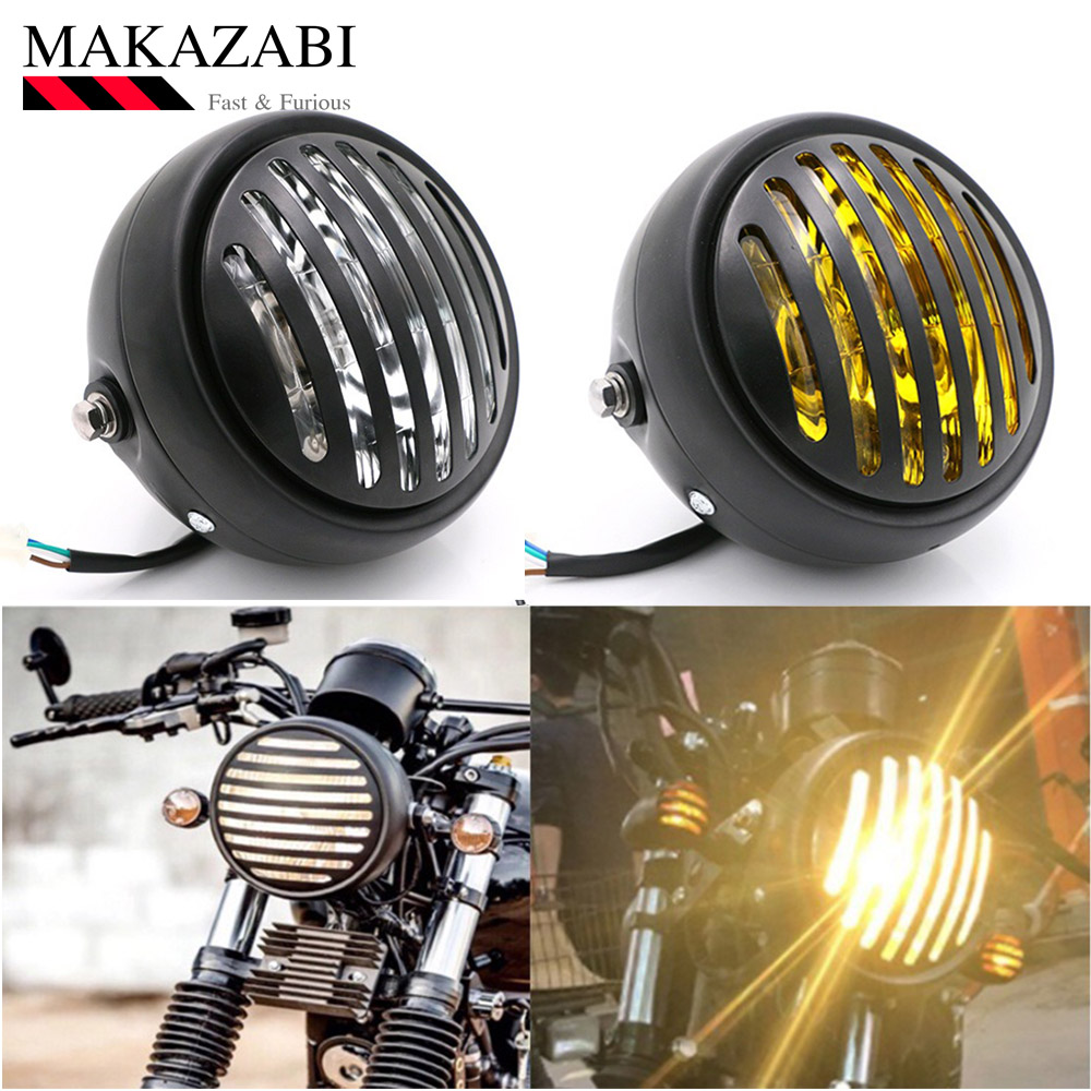 Motorcycle Accessories Cafe Racer Retro headlights Cafe Racer Refit Headlight For  CG125 GN125