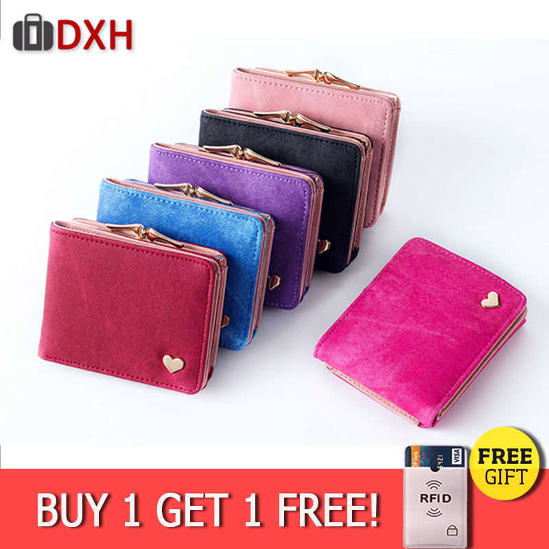 DXH 2019 New Woman Wallet Small Hasp Purse For Luxury Brand Lady Purses Female Wallets Women Mini Leather Clutch Holder Card DXH 2019 New Woman Wallet Small Hasp Purse For Luxury Brand Lady Purses Female Wallets Women Mini Leather Clutch Holder Card