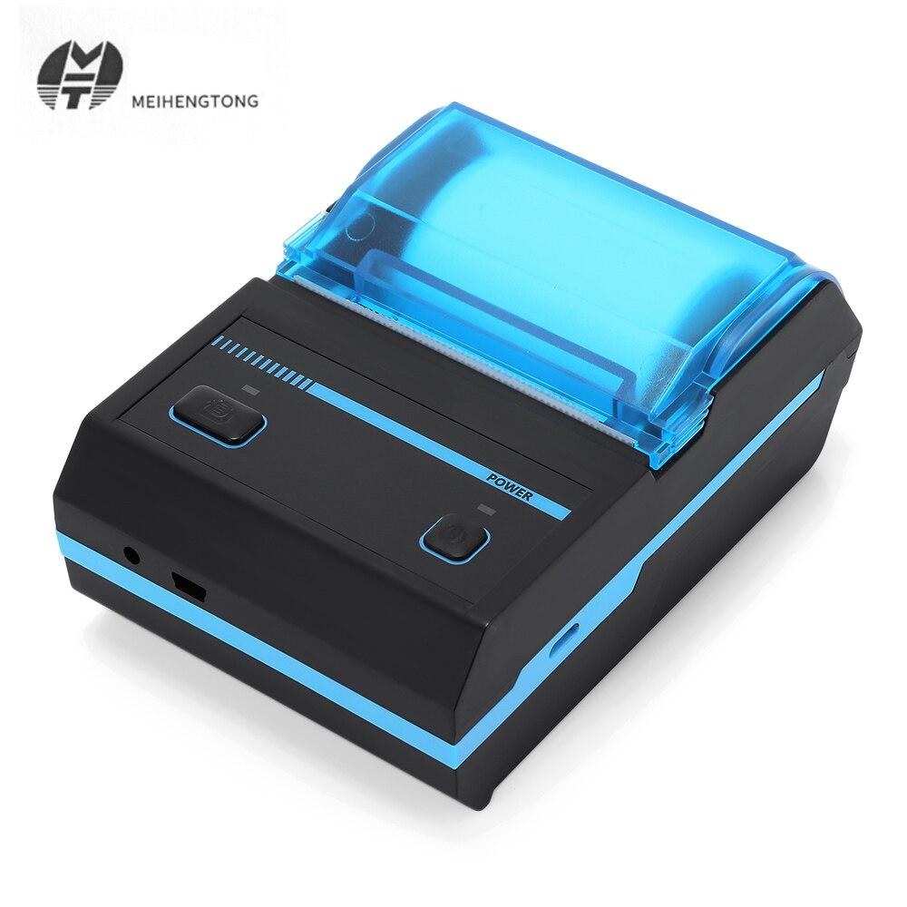 MHT P16L Thermal Label Printer 58mm Sticker QR Code Portable