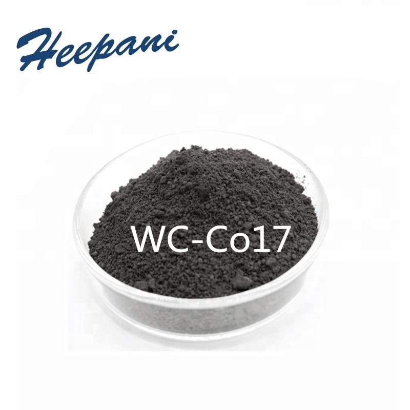 Free Shipping WC-Co17 Ultrafine Tungsten Carbide Cobalt Powder For Scientific Research