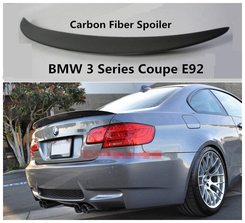 Becquet en Fiber de carbone pour BMW série 3 coupé E92 2006-2019 de haute qualité