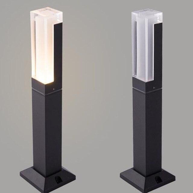 BECOSTAR-Aluminum-Gray-Black-Outdoor-Waterproof-LED-Lawn-Lighting-LED-Bollard-Lamp-Height-27cm-or-40cm.jpg_640x640