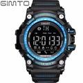 GIMTO No Charge Long Standby Smart Watch Creative LED Digital Sport Watch Men Pedometer Calories Monitor Waterproof Wristwatch