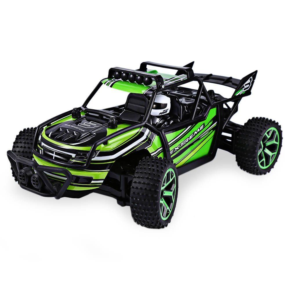 EBOYU(TM) 2.4Ghz 4WD High Speed 1:18 RC Car Off-Road Rock Vehicle Crawler Truck RC Racing Car <font><b>Fast</b></font> Race Buggy Hobby Car