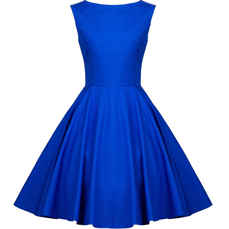 Doragrace vestidos de festa New Fashion Simple Royal Blue Short Women Party   Dresses     Cocktail     Dress