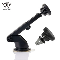 XMXCZKJ Car Magnetic Holder Suction Cup Air Vent Mount Holder Windshield Dashboard 2 In 1 Universal