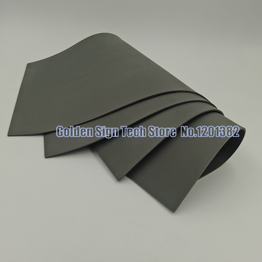 2pcs/lots Laser Rubber Sheet/ Rubber Laser Engraving Sheet 297*210*2.3mm With Environmental Protection For Stamp High Quality