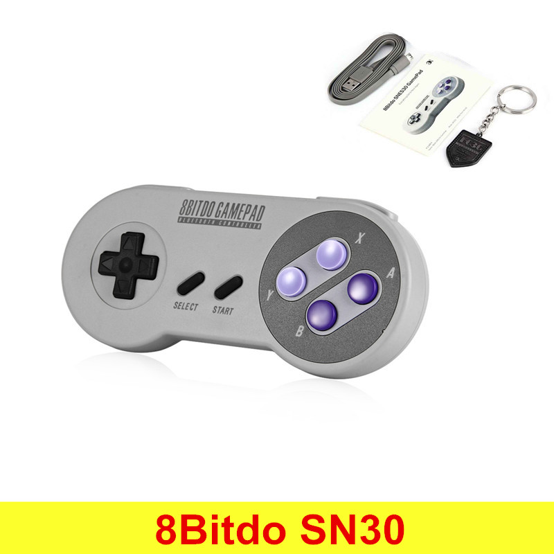 Original 8Bitdo SN30 Wireless Bluetooth Game Controller Gamepad Joystick Selfie for Switch Android PC Mac Linux