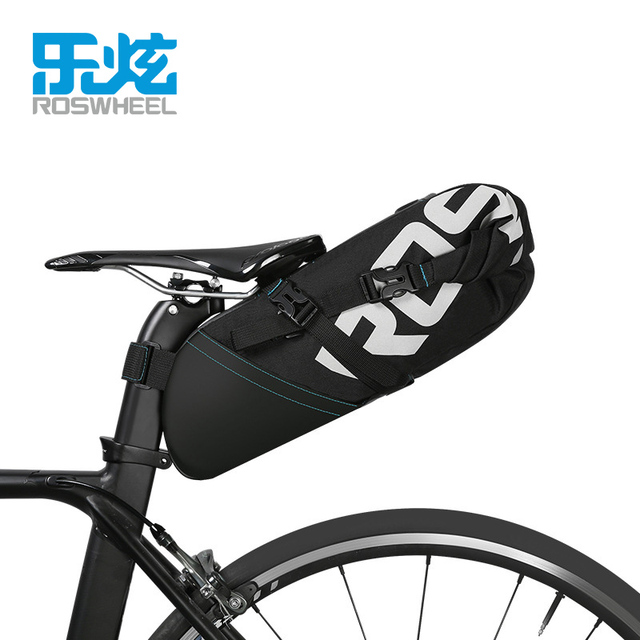 ROSWHEEL NEW MTB  bike bag cycling bicycle saddle tail rear seat waterproof Storage bags accessories high-capacity  8L 10L