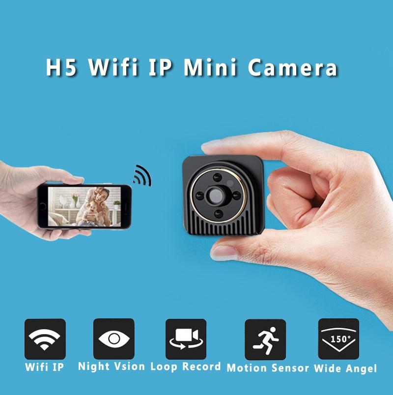 Wi-Fi IP мини Камера Беспроводной 720 P HD инфракрасного микро Камера ИК Ночное видение Средства ухода за кожей Камера Магнитная обнаружения движ...