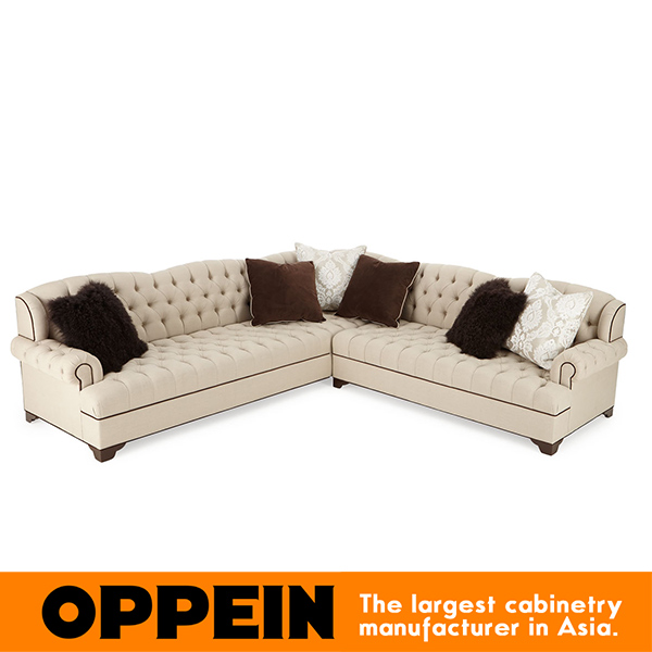 Modern Corner Three Seats Fabric Sofa modern furniture