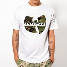 WU TANG CLAN Мода уникальный классический хлопок мужчины круглым воротом с коротким рукавом футболка дизайн