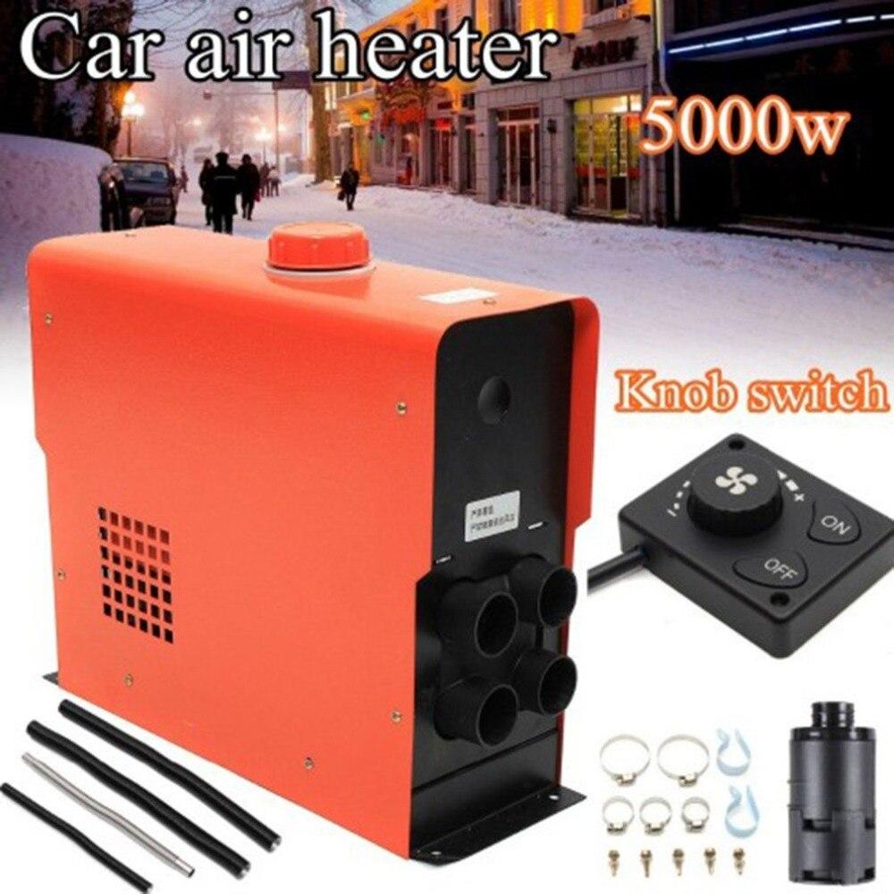 Chauffage de voiture 5KW 12 V Air Diesels chauffage chauffage de stationnement pour voitures camions Yachts bateaux camping-Cars Air Parking vente chaude