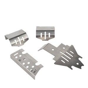 Image 3 - Rc バンパー保護板 & 車軸鎧保護 & シャーシ鎧保護スキッドプレートセットトラクサスの場合 Trx4 TRX 4 アップグレード部品