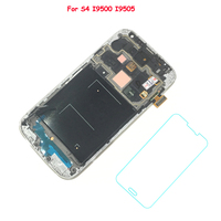 FIX2SAILING New Super AMOLED LCD Display 100 Tested Working Touch Screen Assembly Frame For Samsung Galaxy