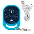 Azul Sem Fio Bluetooth Media Música Foto Jogador Controlador Remote Control self-temporizador Obturador para IOS Android Telefone P