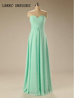 Green Bridesmaid Dresses Spaghetti Straps A Line Vestidos De Madrinha Sweetheart Chiffon Floor Length Brautjungfernkleid