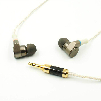 TIN Audio T2 Metal In Ear Earphone Double Dynamic Drive 2DD HIFI Music DJ Monitor Bass 3.5mm Earbuds With MMCX Interface