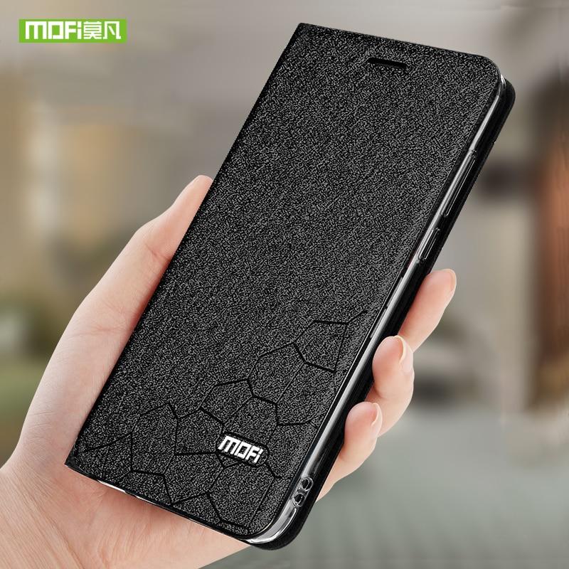 Mofi Phone Case Para Oneplus 7 Pro Casos Original Couro Back Flip Capa Quadro Capa de Silicone Fundas 360 Protetor À Prova de Choque