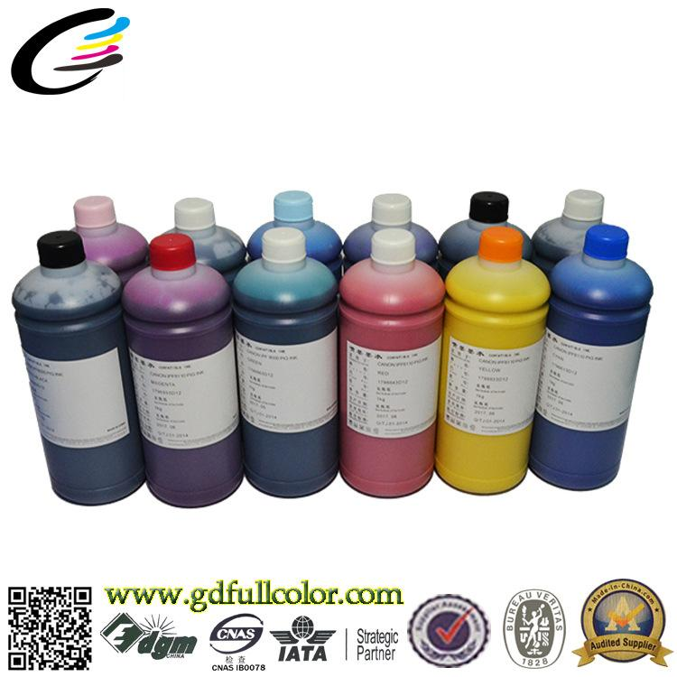 ФОТО Material Import 100% Compatible Inkjet Ink for Canon iPF8300 iPF8310 iPF9300 Pigment Based Ink