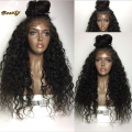 4x4 Silk Top Full Lace Wigs 8A Glueless Brazilian Human Hair Water Wave Silk Base Lace Front Wigs With Baby Hair For Black Women