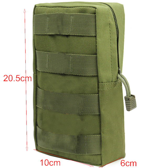 Airsson Sports Military 600D MOLLE Pouch Bag 3