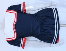 Ladies Hello Miss Sailor Sea Fancy Dress Costume Outfit Sexy Fashion Role Play Female Halloween Cosplay Costume W438049
