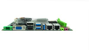 Image 5 - original factory Fanless with 6*COM & 6*USB Mini ITX industrial Motherboard support intel core i3 i5 i7 CPU embedded motherboard
