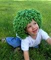Новое Прибытие Клоун Парик Мальчиков Хеллоуин Костюм Парик Смешные Шляпы Вязаные Капусте Клоун Косичку