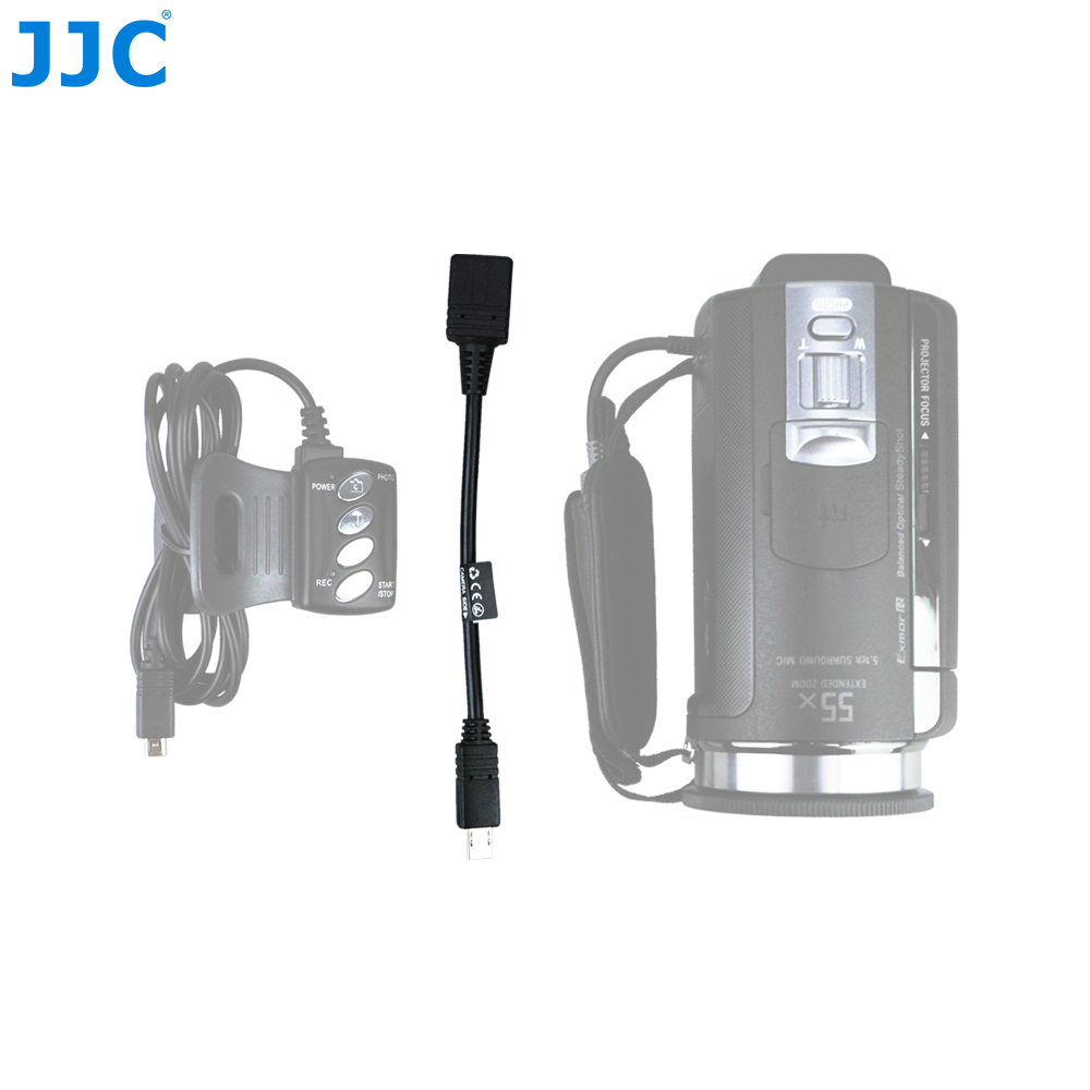 JJC Cable Adapter with Multi Interface to A/V Terminal for Sony VMC-AVM1 A/V R Compatible Handycam Camcorders HDR-CX220E/B