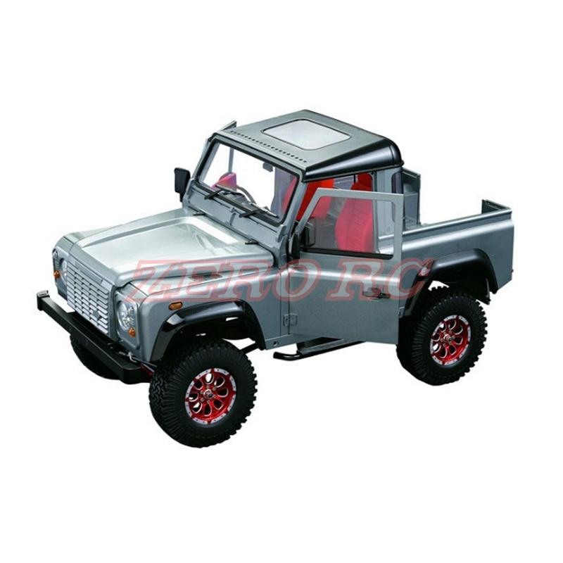 1/10 RC skala Gelande II D90 ciężarówka typu pickup twardego tworzywa sztucznego powłoki zestaw 275mm rozstaw osi dla RC4WD D90 podwozie w Części i akcesoria od Zabawki i hobby na  Grupa 1