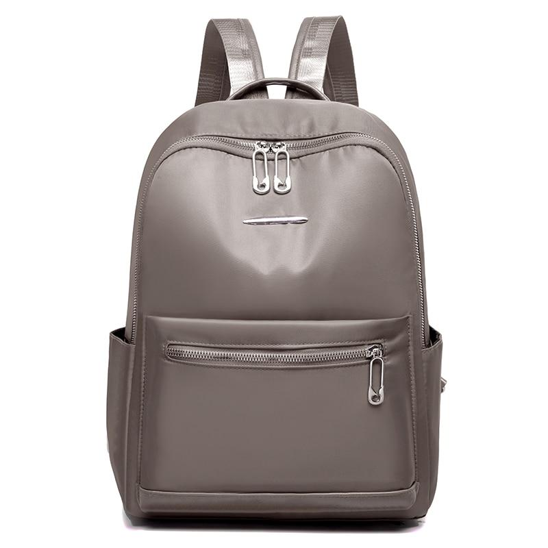 Leisure Women Backpack Large Capacity Backpacks Female School Bag For Girls Shoulder Bags Waterproof Oxford Travel Backpack