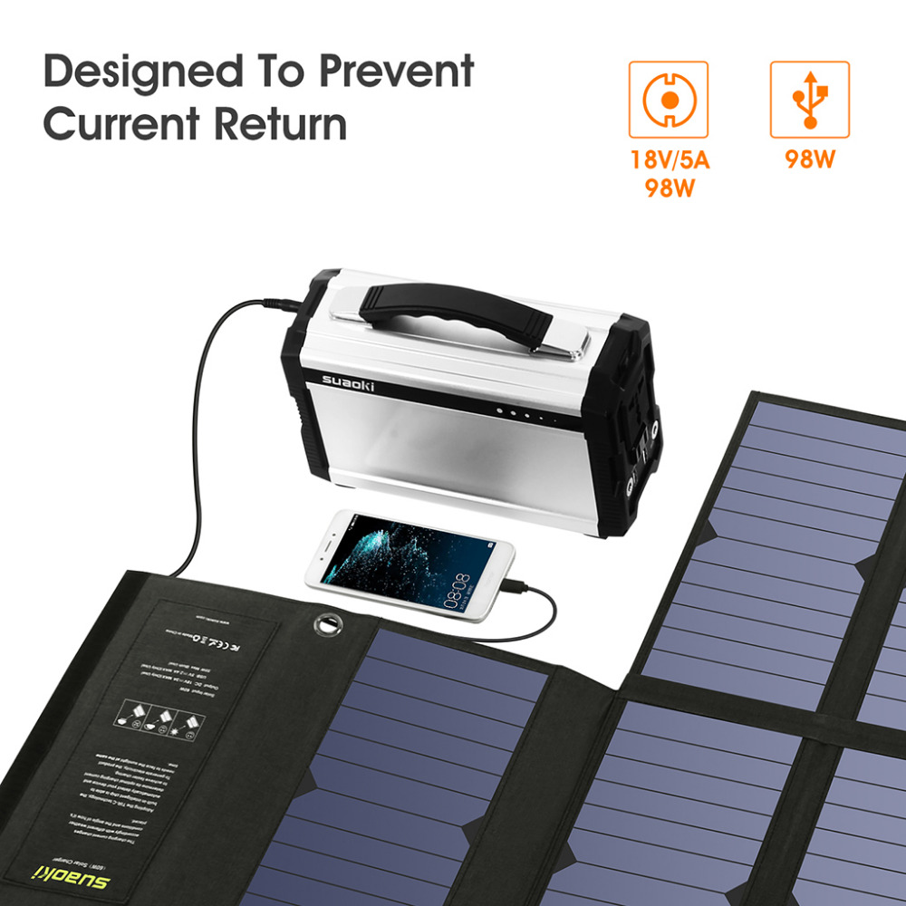 Camera Tablet New Solar Energy Chargers Folding 5v 2.1a Usb Charger Panel Portable Power Source For Electronic Device Phone
