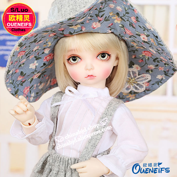 OUENEIFS free shipping Dress suit with small and fresh literature and art model,1/6 bjd sd doll clothes,no doll or wig YF6-158 oueneifs free shipping new floral princess dress skirt lace edge 1 8 bjd sd doll clothes have not wig or doll yf8 106 page 9