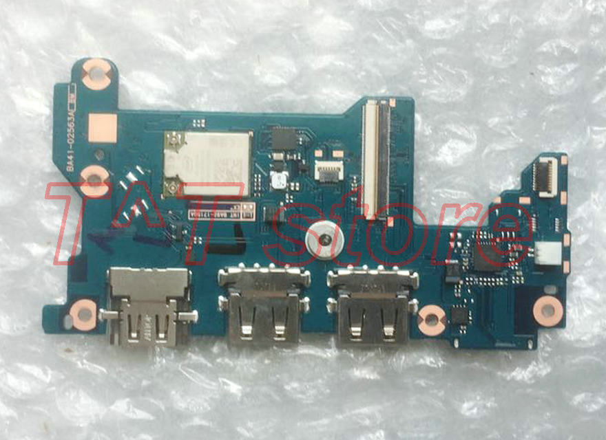 все цены на original NP900X5N 900X5N NP900X5T 900X5T POWER BOTTON USB LAN Board BA41-02563A test good free shipping