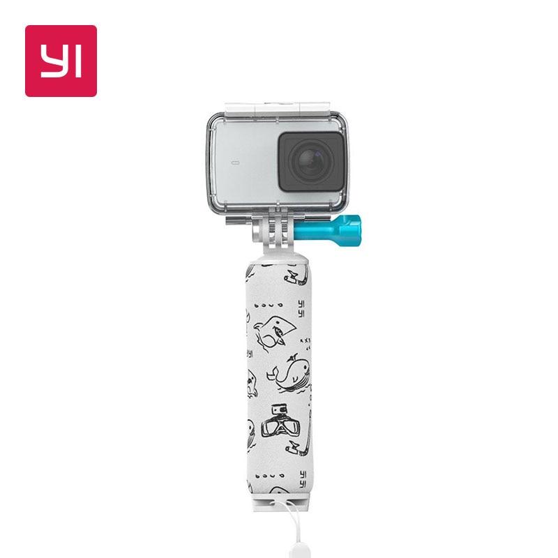 YI flotante agarre Stick blanco para YI 4 K 4 K Plus cámara de acción aventura bajo el agua natación, buceo, surf