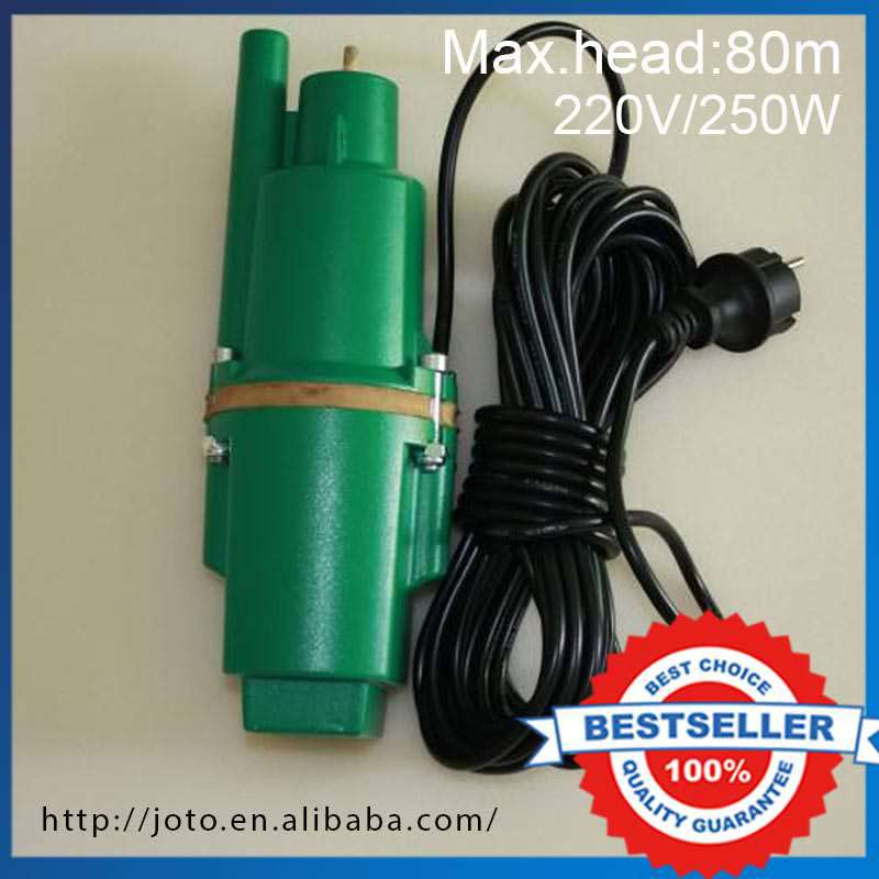 250W 80m lift Electromagnetic Water Pump High Pressure Deep Well Pump hand pump well pressure pump well oil pump hand pressure cast iron deep well thick and durable