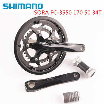 Shimano Sora 3550 170mm 50-34T 2x9 With 3500 BSA Bottom Bracket Included - DISCOUNT ITEM  41% OFF All Category