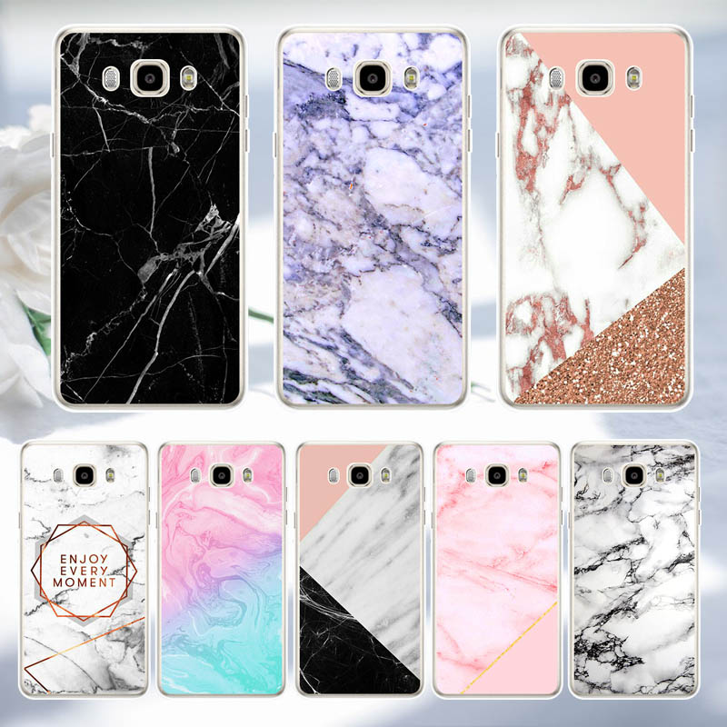 <font><b>Marble</b></font> <font><b>Case</b></font> For <font><b>Samsung</b></font> <font><b>Galaxy</b></font> J3 <font><b>J5</b></font> J7 <font><b>2016</b></font> 2017 Soft Silicone TPU Back <font><b>Phone</b></font> Cover <font><b>Case</b></font> For <font><b>Samsung</b></font> J1 <font><b>2016</b></font> J120 J120F Coque image