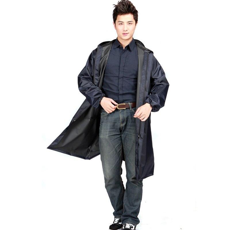 Aliexpress.com : Buy men black Raincoat outdoor trench style