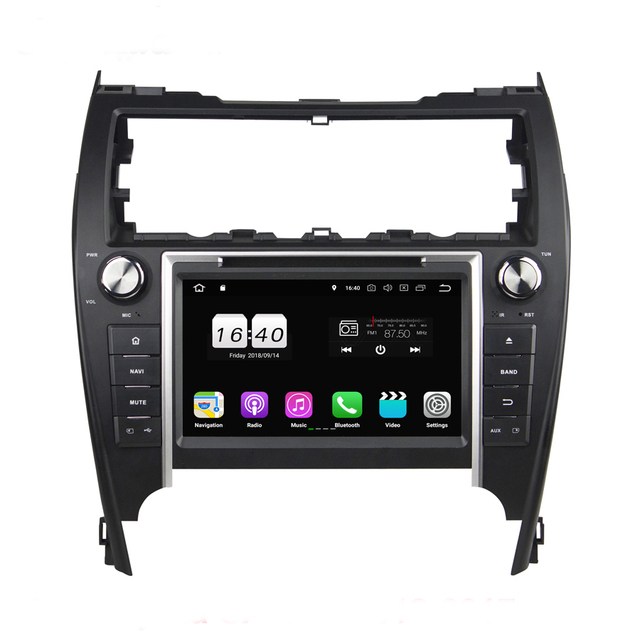 US $326.52 33% OFF|For Toyota CAMRY 2012 2017 USA middle east USB Android  8.1 2G RAM 16GB 4core Car DVD Player Wifi BT 4.0 RDS RADIO tuner GPS Map-in  ...