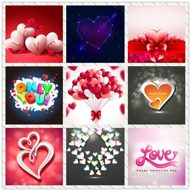 Diamond painting Love Heart romantic Gift for sweetheart stitch diamond embroidery home mosaic Decoration Needlework Handicraft