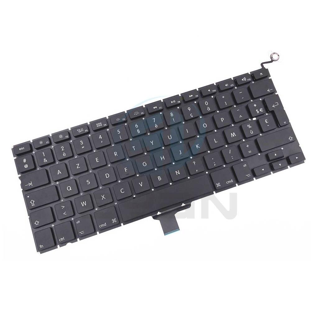 Французский A1278 клавиатура с подсветкой для Macbook pro 13,3 дюймов ноутбук MD101 MD 102 клавиатуры с подсветкой абсолютно новый 2008 2012|Клавиатуры для замены| | АлиЭкспресс
