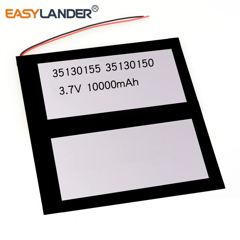 35130155 30130155 <font><b>3.7V</b></font> <font><b>10000mAh</b></font> Rechargeable li Polymer Li-ion <font><b>Battery</b></font> For tablet PC 35130150 30130150 image